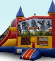 Inflatable Castle Slide Combo Jumper