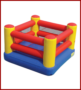 Inflatable Boxing Ring Interactive All Star Jumpers