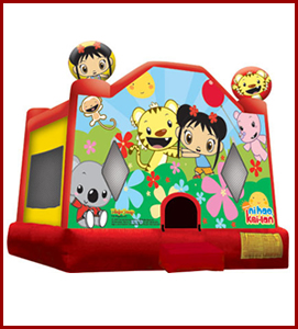 Ni Hao Kai Lan Bounce House Jumpers All Star Jumpers