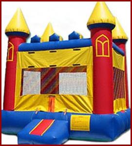 Inflatable Castle Jumper Jumpers All Star Jumpers Orange