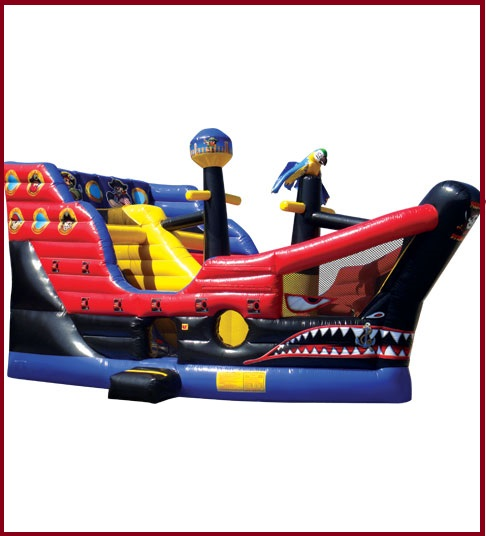 Inflatable Pirate Ship Combo Jumper