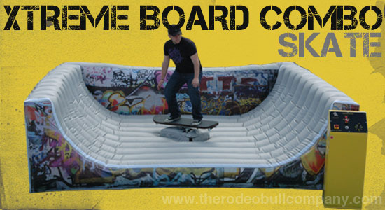 Skateboard Simulator Interactive All Star Jumpers Orange