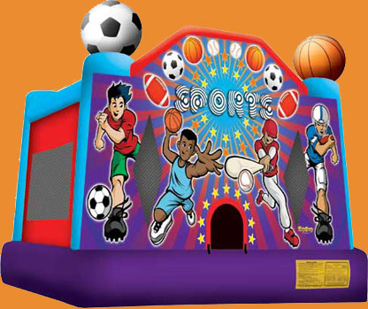 All Sports Large Bounce House