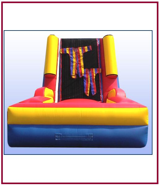 inflatable velcro wall interactive all star jumpers orange county