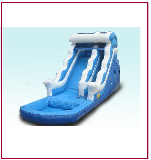 Inflatable Water Slide Rental San Jose: Ocean Water Slide Slides All Star Jumpers